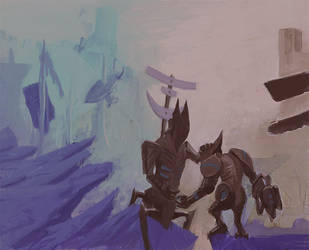The Parting, Work in Progress by laxon
