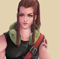 Brigitte by flawyflaw