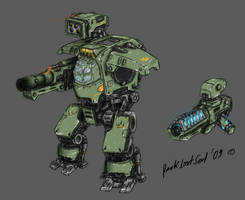 Mech unassembled by DarkLostSoul86