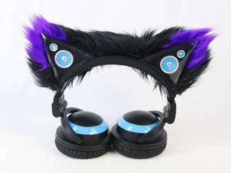 Pawstar Accent Sleeves For Cat Ear Headphones by PawstarDoompony