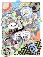 Zentangle by Uke-Mochi