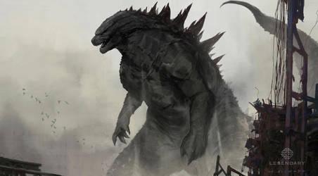 Godzilla Rises by skybolt