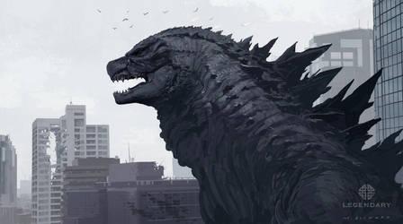 Godzilla Head Design by skybolt