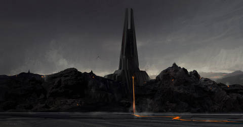 VADERS CASTLE by skybolt