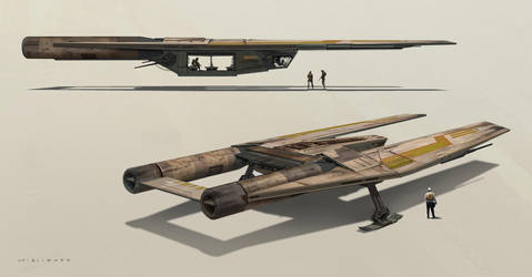U-WING - Rogue One by skybolt