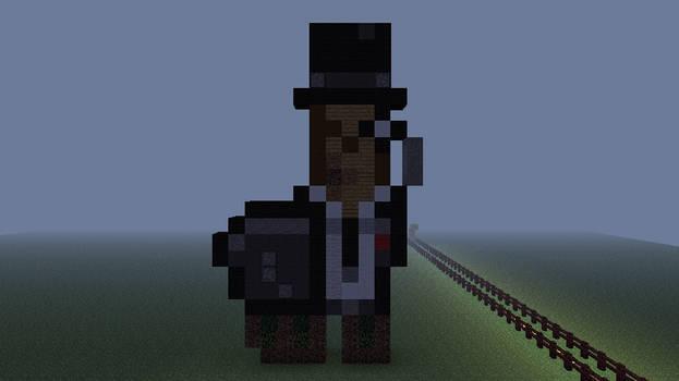 Deviantart Fancy Llama In Minecraft By Yhgi117 On Deviantart
