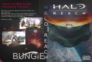 Halo Reach: Custom Cover V2 by Jourdy288