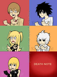 Death Note - Clone High? by Krazy-Chibi