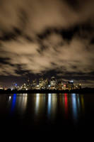 4am Sydney Skyline by leafinsectman