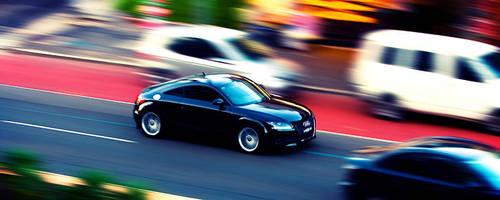 Audi TT Blur by leafinsectman