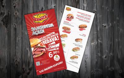 kowich flyer menu by ziyade