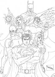 Justice League of America by viLasboa