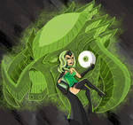 Alphabet Lantern Project - E is Emerald Empress by AlixxEleveus2Dragon