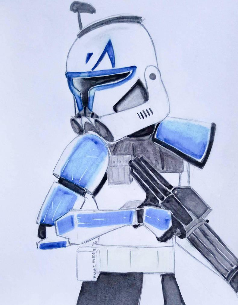 Captain Rex  by AlixxEleveus2Dragon