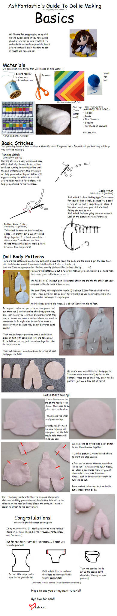 AshFantastic's Doll Tutorial by AshFantastic
