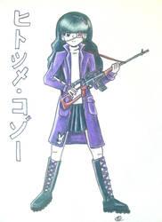 Ayano'Hitotsume-Kozo'Hazuki by AshFantastic