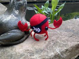 Pirate Crab by AshFantastic