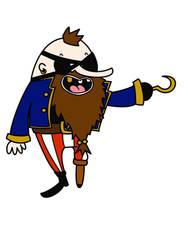 Blindbeard the Pirate by AshFantastic
