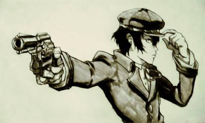 Persona 4 Naoto by Yoseph13