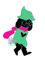 Ralsei by Tokyoinkwolf