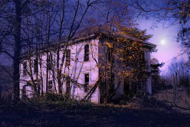 Country Halloween Forgotten by Waxmanjack