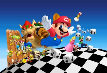 Remake: Super Mario Bros. 3 Artwork by Emeffy