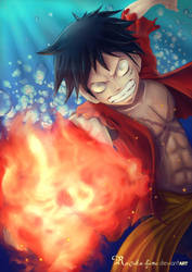 Red Hawk, A tribute to the fire fist. take #2 by Kaizoku-hime