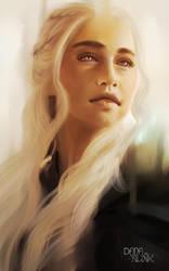 Fan-art Friday: Daenerys Stormborn by Kaizoku-hime