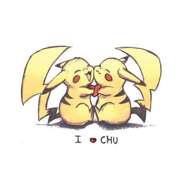 I love chu by Kaizoku-hime