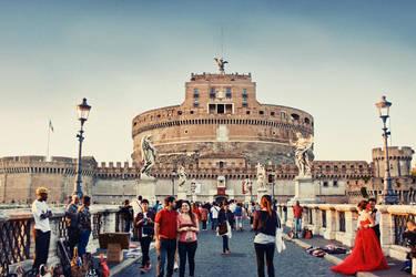Castel Sant'Angelo by Teh-cHix0r
