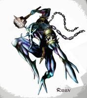Dota Fanart: Faceless void by RavenSilvermaine