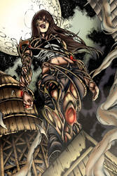 Witchblade By Mariah Benes by Sabu-chan