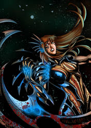 Witchblade Gabrielle by KSDarboe (digital colors) by Sabu-chan
