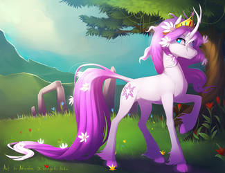Harmony_around_(Commision) by antiander-art