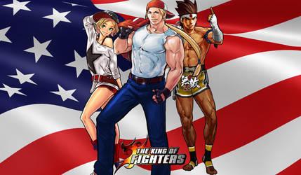 KoF Fatal Fury Team Wallpaper by BLFML72