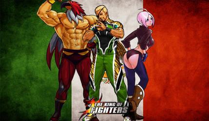 KoF Mexico Team Wallpaper by BLFML72