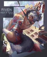 Riven fan skin by Kair030