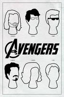 The Avengers poster (2012 in Hindsight Series #4) by ll-og