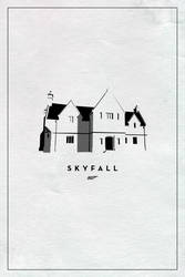 Skyfall poster (2012 in Hindsight Series #16) by ll-og