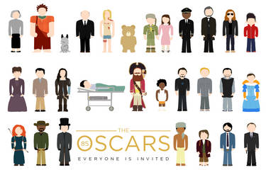 The Oscars: Everyone Is Invited by ll-og