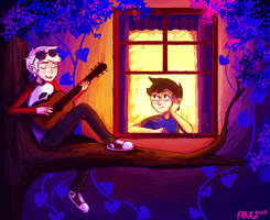 It feels the way you told me how it'd always feel by Atherist