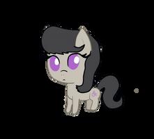 Octavia Filly/Chibi by PineappleSurferMoon