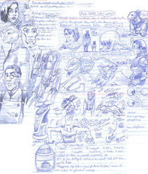 Semester Scribbles by muffin-wrangler