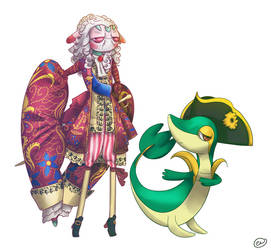 Rococo Larry by muffin-wrangler