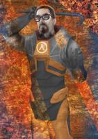 Gordon Freeman by muffin-wrangler