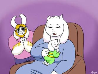 Happy dad c: by Gigagoku30