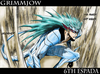 Grimmjow by Warrenator-1