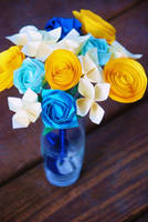Origami Sky Bouquet by lisadeng