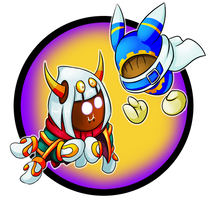 Taranza and Magolor by Cryophase