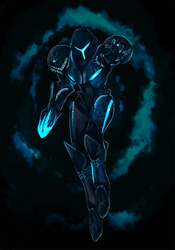 Dark Samus by Cryophase